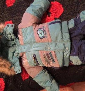 Продам зимний костюм на мальчика, рост 68 см