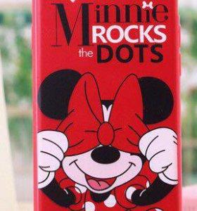 Чехол красный для iPhone 5/5s
