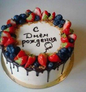 Тортики на заказ🎂