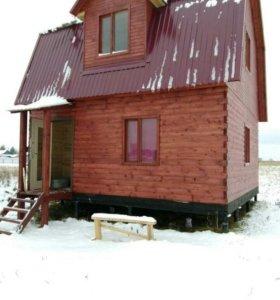 Продам дом из цилиндрованного бруса