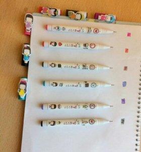 Ручки Гелевые Корейские
