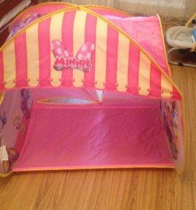 Детская игровая 3D палатка Minnie