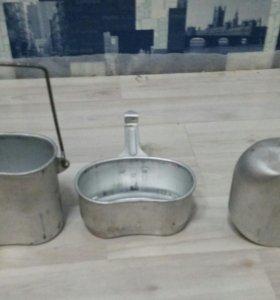3 в 1 туристический набор посуды