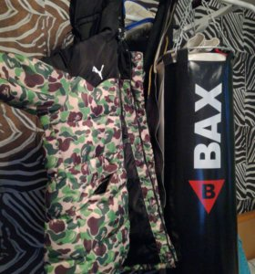Puma x Bape куртка зимняя