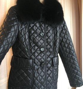 Куртка стёганная новая