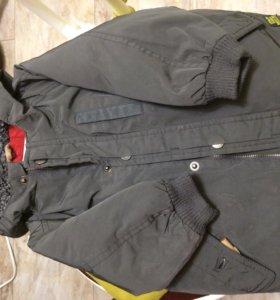 Куртка зимняя  ZARA baby 86
