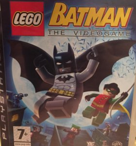 Игра на PS3- Lego Batman.