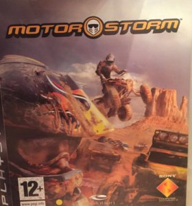 Игра на PS3- motor storm.