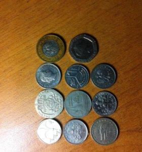Продам монеты разных стран и государств .