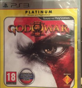 Игра на PS3- GOD of WAR.