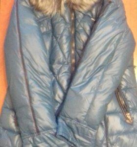 Зимнее пальто размер 50-52