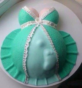 Торт на заказ или печенье имбирное, капкейки.
