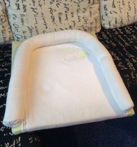 Накладка/матрасик для пеленания на комод/кровать