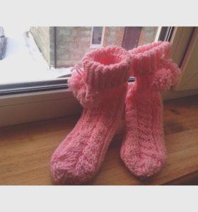 Вязанные носочки