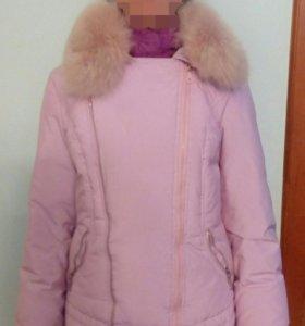 Тёплая зимняя куртка.