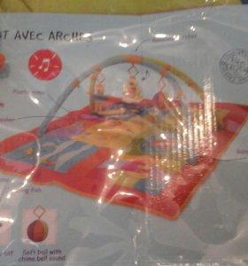 Детский игравой  развивающий коврик