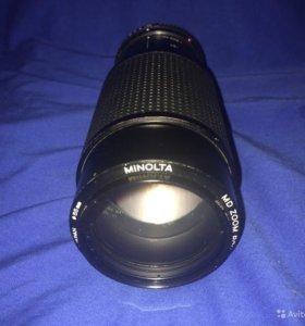 Minolta Zoom 75-200mm F4.5 для Sony