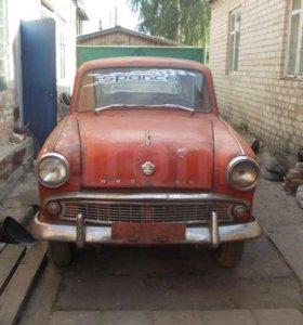 Автомобиль Москвич с красивыми номерами
