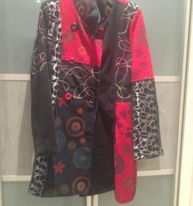 Новый комплект (пальто-юбка)