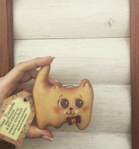 Котик кофейный