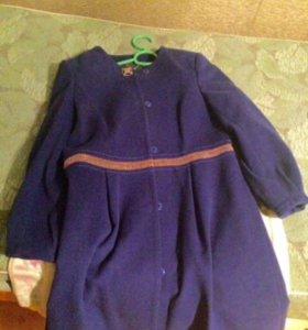 Пальто новое шерстяное