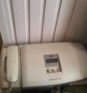 Факс принтер цветной новый
