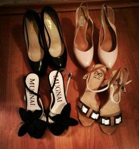 Туфли и босоножки.