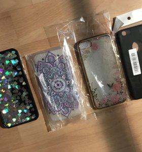 Чехлы и Стекла для iphone 7 i 7plus