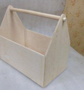 Ящики-переноски для инструмента и инвентаря