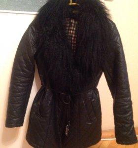 Куртка (прессованная кожа )