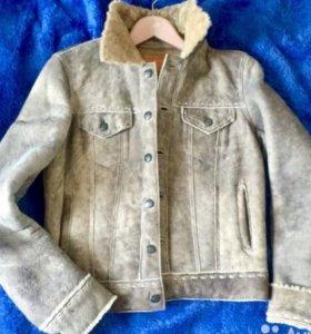 Earl Jean дубленая куртка США новая унисекс