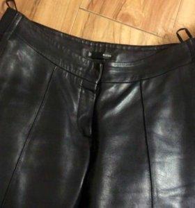 Ruffo кожаные джинсы 28-29