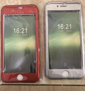 Чехлы на айфон 7 и 6 360 градусов