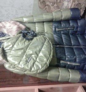 Пуховик зимний  размер 50