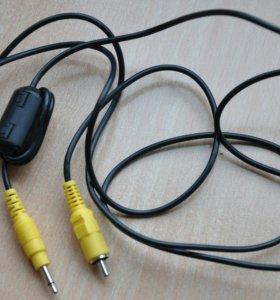 Кабель колокольчик на джэк RCA - jack 3.5mm