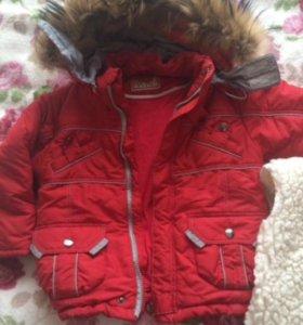 Зимняя куртка и комбезы