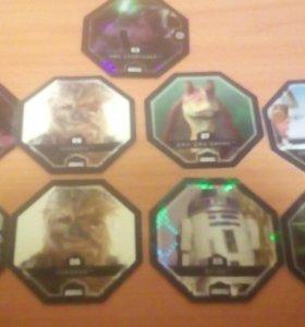 Карточки star wars 24 шт