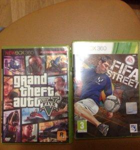 Xbox360 + 2 игры