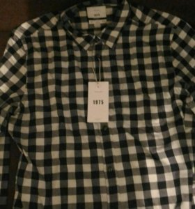 Новая мужская рубашка Zara (размер L)