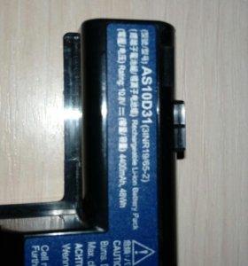 Аккумулятор для ноутбука AS10D31