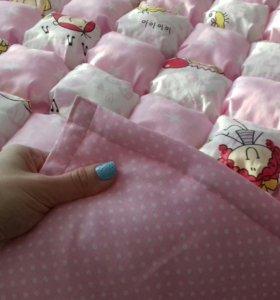 Новый (!) комплект одеяло - бомбон и подушка