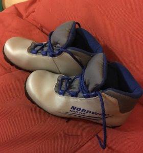 Продам лыжные ботинки Nordway
