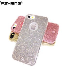 Чехол FSHang® Shine iPhone 5/5s/SE (силикон)
