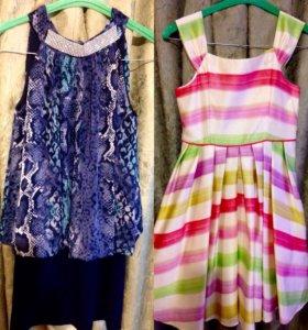 Платье для девочек 8-10лет