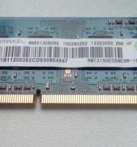 SO-dimm Ramaxel DDR3 1600 2G