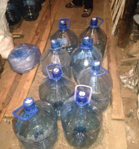 Бутылки для питьевой воды 19 литров
