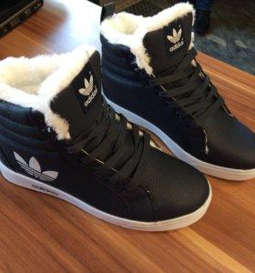 Кеды ( ботинки) новые унисекс