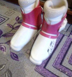Ботинки детские горнолыжные