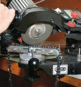 Заточка цепей  на бензопилы и электропилы