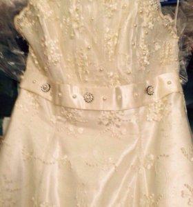 Платье+перчатки